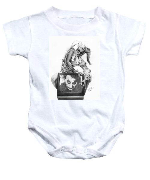 The Last Laugh Baby Onesie