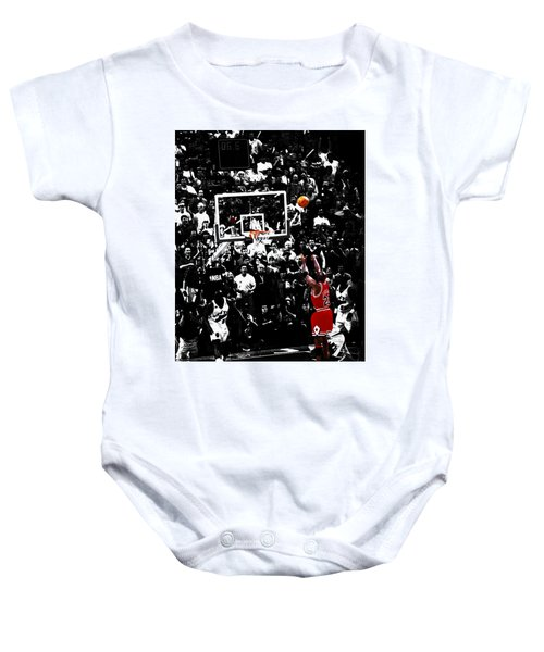 The Last Shot 23 Baby Onesie by Brian Reaves