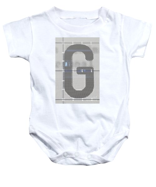 The Letter G Baby Onesie