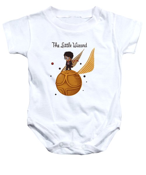 The Little Wizard Baby Onesie