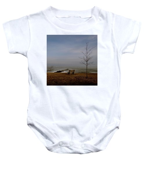 The Lonely Bench Baby Onesie