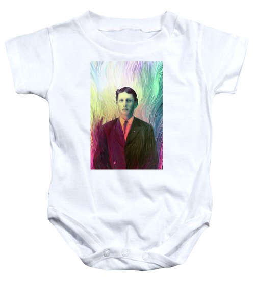 The Man With The Eyes Baby Onesie