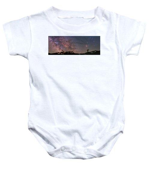 The Milky Way Core Baby Onesie