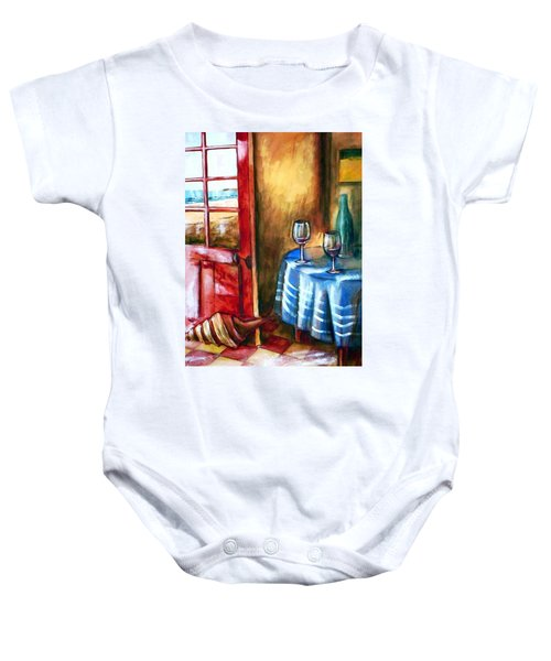 The Mystery Room Baby Onesie by Winsome Gunning