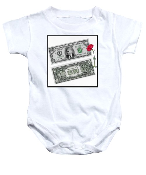 The New Trump Currency Baby Onesie