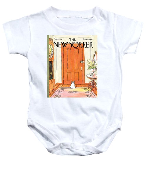 The Long Wait Baby Onesie
