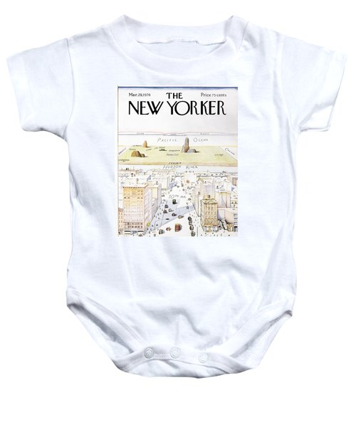 View From 9th Avenue Baby Onesie
