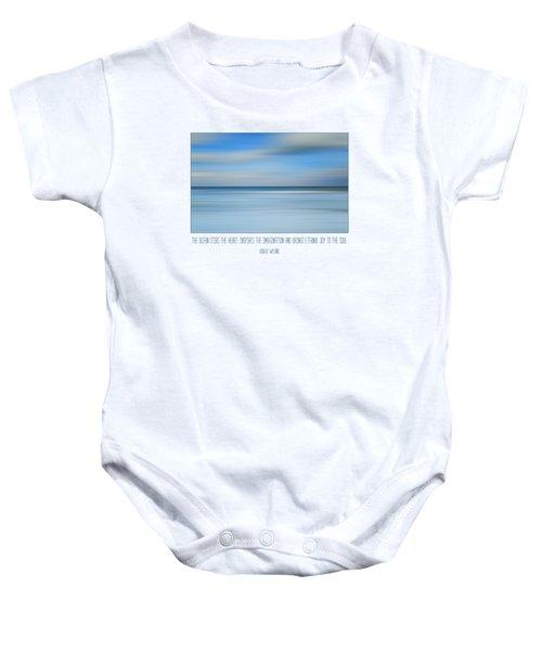 The Ocean By Robert Wyland Baby Onesie