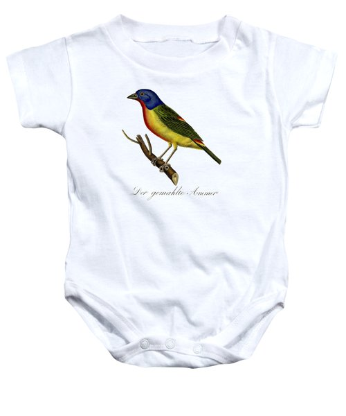 The Painted Bunting Baby Onesie