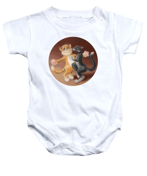 The Painting About Love  Baby Onesie