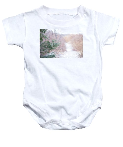 The Path Untraveled  Baby Onesie