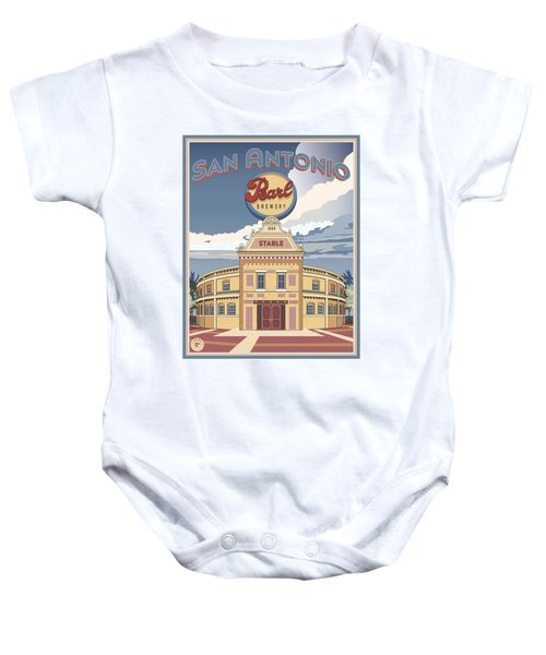 The Pearl Stable Baby Onesie