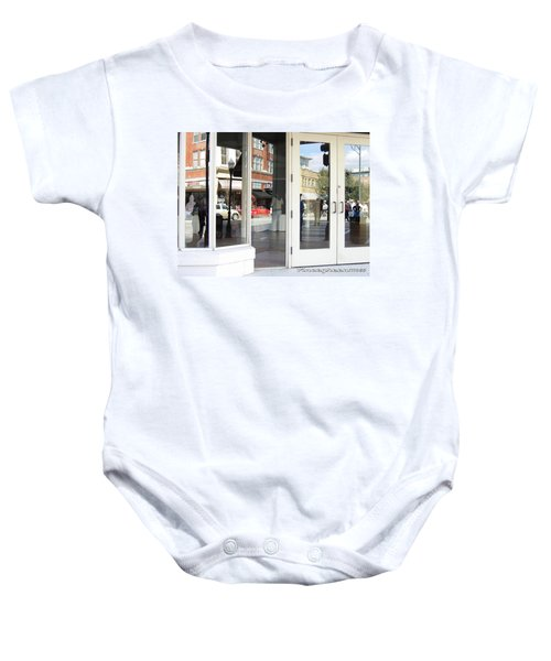 The Photographer And His Doppelganger Baby Onesie