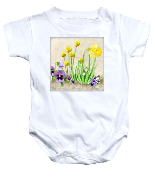 The Promise Of Spring - Dragonfly Baby Onesie
