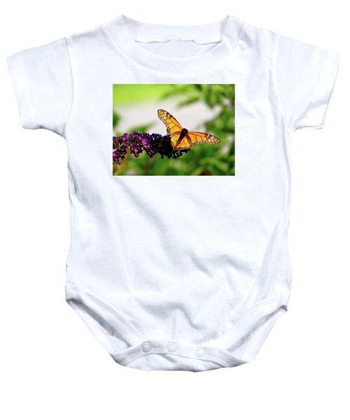The Resting Monarch Baby Onesie