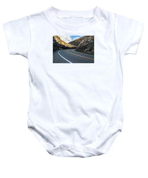 The Road Baby Onesie