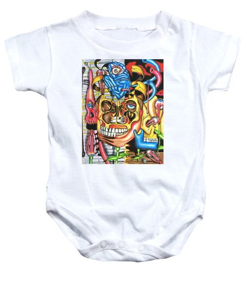The Roots Of Human Evolution Baby Onesie