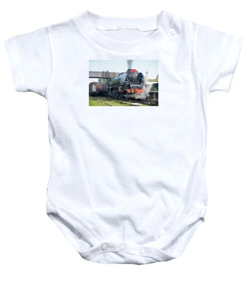 The Royal Scot At Butterley Baby Onesie