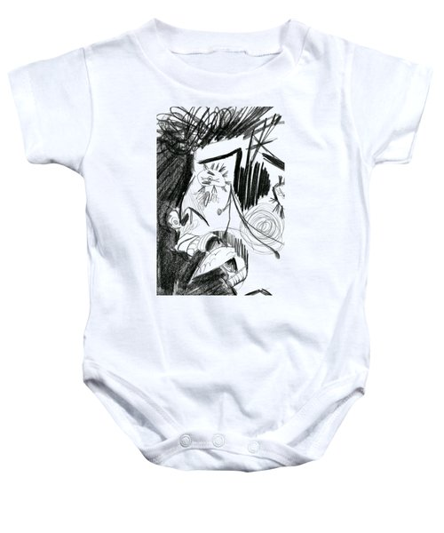 The Scream - Picasso Study Baby Onesie