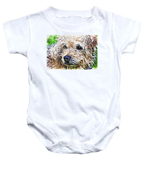 The Scruffiest Dog In The World Baby Onesie