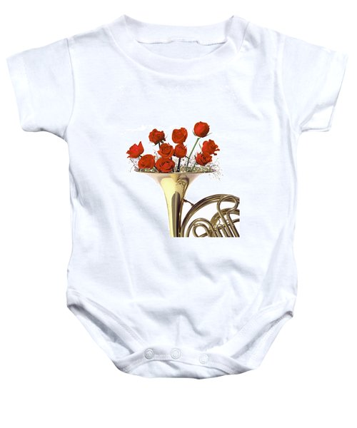 The Sight Of Music Baby Onesie