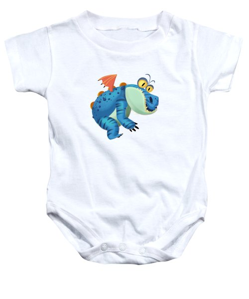 The Sloth Dragon Monster Baby Onesie