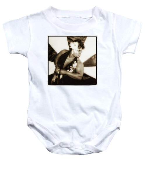 Baby Onesie featuring the photograph The Spirit Club. Another Tenderloin by Mr Photojimsf