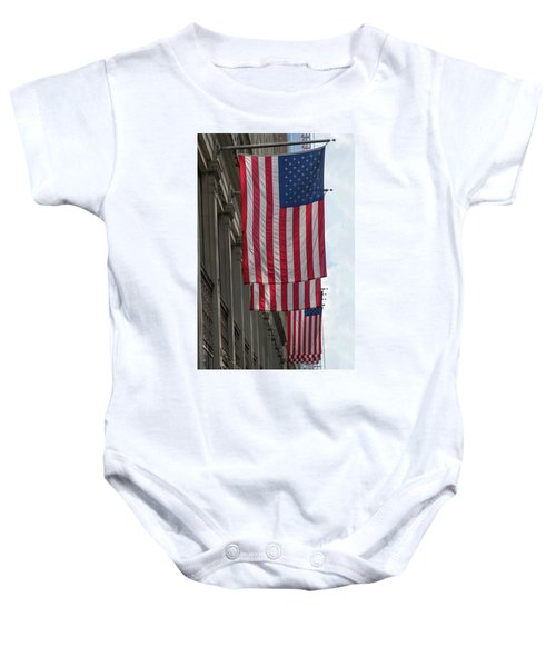 The Stars And Stripes Baby Onesie