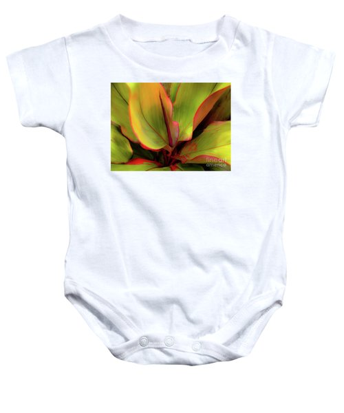 The Ti Leaf Plant In Hawaii Baby Onesie