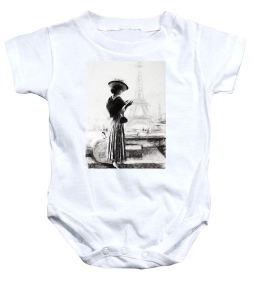 The Traveler Baby Onesie