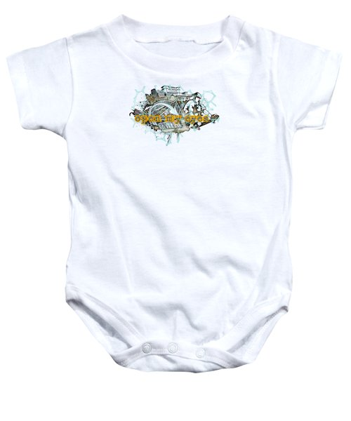 The Vail Is Upon Their Heart.  Baby Onesie