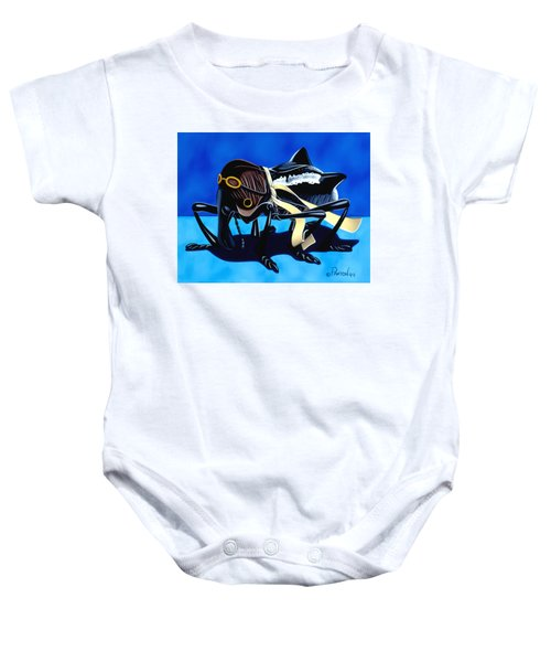 The Veteran Baby Onesie