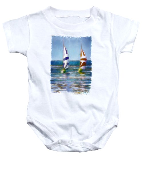 The Wind In Your Sails Baby Onesie