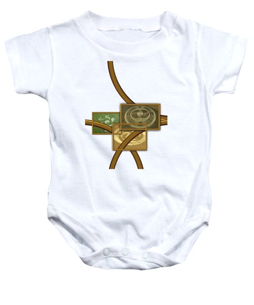 The World Of Crop Circles By Pierre Blanchard Baby Onesie by Pierre Blanchard
