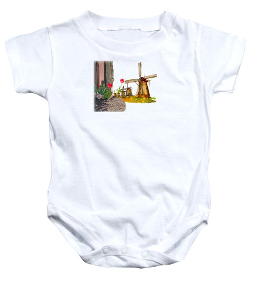Thinkin Bout Home Baby Onesie by Larry Bishop