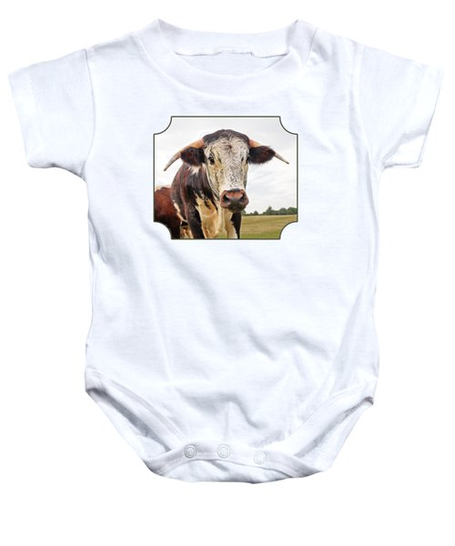 This Is My Field Baby Onesie by Gill Billington