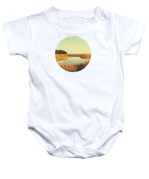 Those Golden Days Baby Onesie