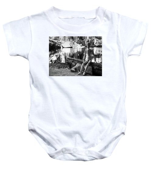 Thoughts Reflected Baby Onesie