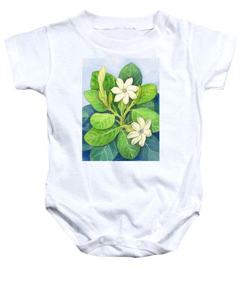 Tiare Maori Baby Onesie