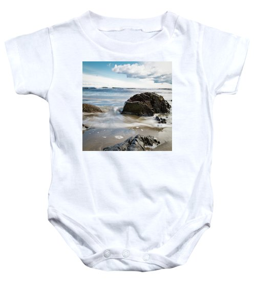 Tide Coming In #2 Baby Onesie