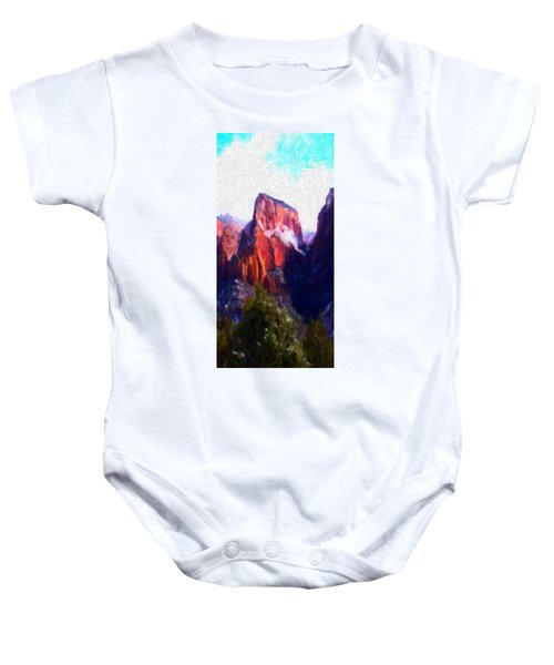 Timber Top Baby Onesie