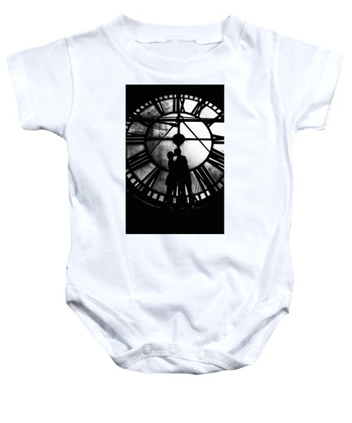 Timeless Love - Black And White Baby Onesie