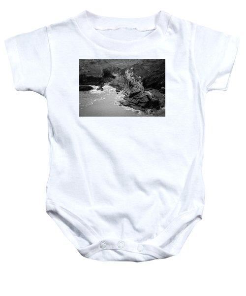 Tintagel Rocks Baby Onesie