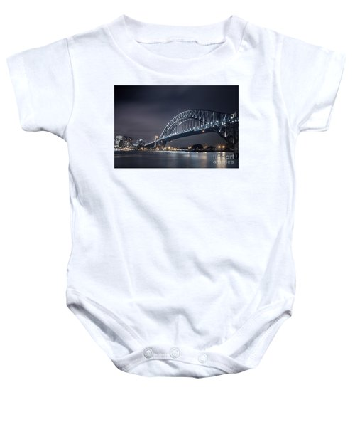 To Run With The Darkness Baby Onesie