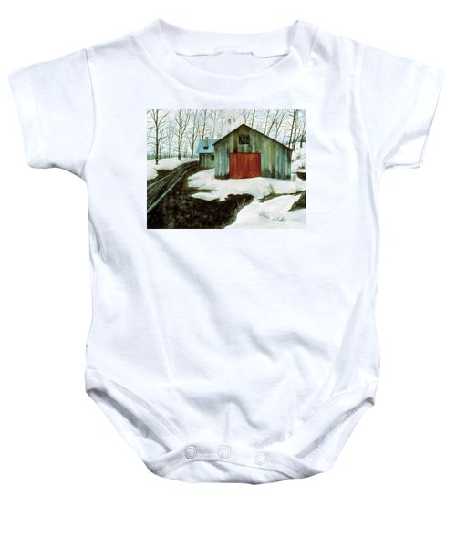 To The Sugar House Baby Onesie