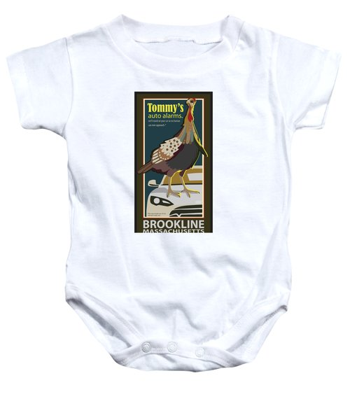 Tommy's Alarms Baby Onesie