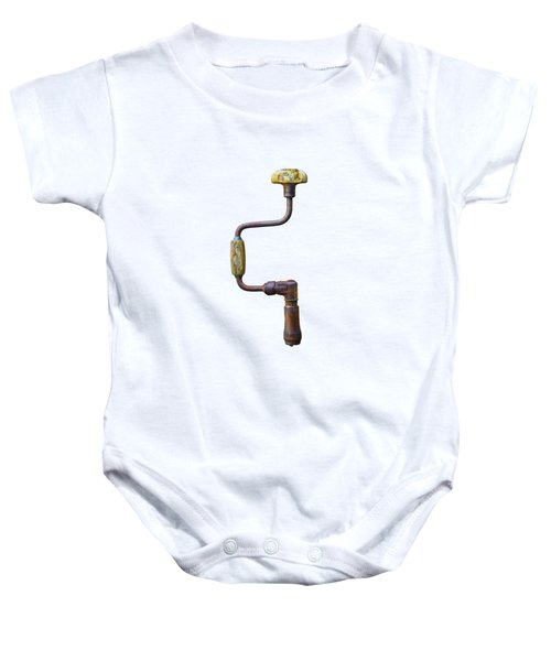 Tools On Wood 61 Baby Onesie