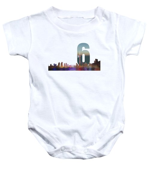 Toronto Skyline - The Six Baby Onesie