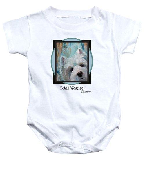 Total Westiac Baby Onesie