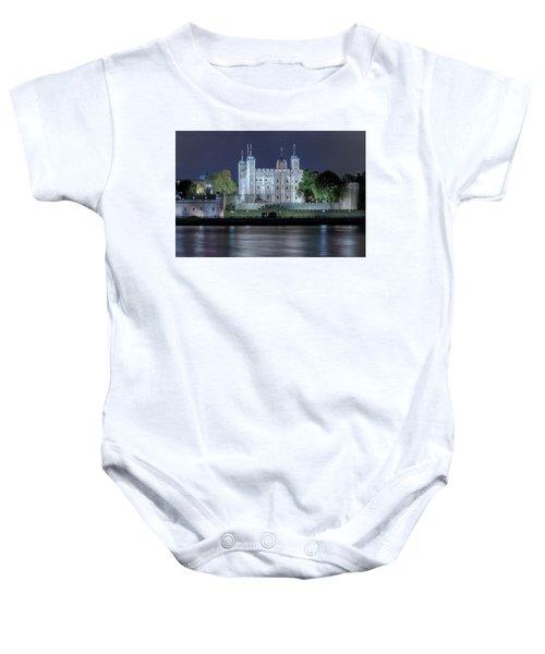 Tower Of London Baby Onesie